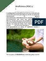Técnicas Mindfulness