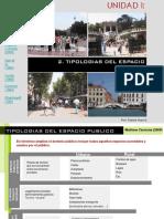 Tipologías Espacio Público