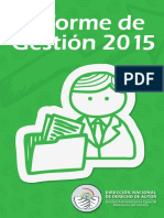 informe gestion 2015