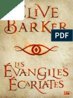 Clive Barker - Les Évangiles écarlates.epub