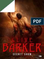 Clive Barker - Secret Show.epub