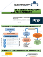 CORRIENTES CONTEMPORANEAS DEL PENSAMIENTO