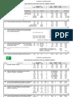 Generador y Presupuesto - 4 Aulas Regionales 6x8 Cubierta Concreto