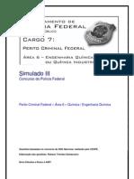 Simulado III - Perito Criminal Federal - Área 6