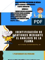 Práctica #4 Identificación de Cationes 258-A Equipo#1