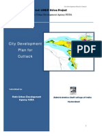 City Development Planfor Cuttak