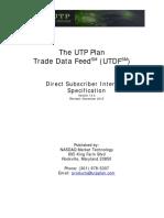 UTP Trade Data Feed