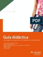 Psicologi a de La Educacio n y Del Desarrollo en Edad Escolar