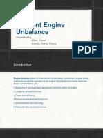 Inherent Engine Unbalance( 11am to 2pm)
