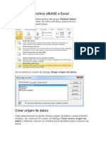 Guia Facil - Importar Un Archivo DBASE a Excel