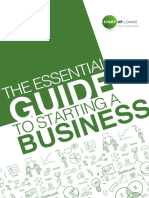 The Essential Guide to Starting a Business - Single Page Format