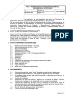Perforacion Con Maquina Neumatica en Chimeneas Verticales