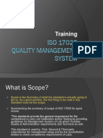 ISO 17025:2005 Training