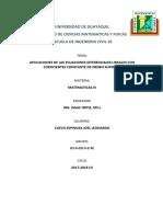 Universidad de Guayaquil Matematicas III