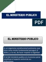 El Ministerio Publico