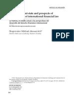 Finanzas Derecho Historia