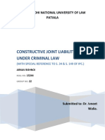 Constructive Joint Liability