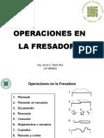 05 Operaciones en El Proceso de Fresado
