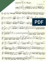 TARTINI flute concerto in G major