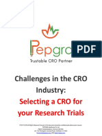 Challenges Faced While Selecting Your CRO - CRO Industry Insights
