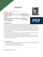 CV Form Tai Young Ahn B