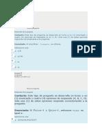 Evaluacion de Reconocimiento Del Curso CALCULO INTEGRAL