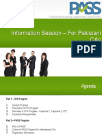 CPA Information for Pakistani CAs - 2018