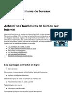 Achat de Fournitures de Bureaux 9588 Kt7l48