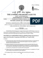 Change of Land Use Policy Gazette Notification