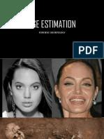 Age Estimation