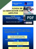 37metodologia en La Educacion Con Adultos