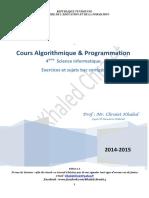 Cours Algorithmique Et Programmation 4 Si(Full Permission)