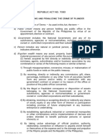 44. RA 7080 - Anti-Plunder Act