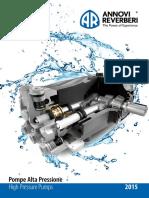 13230_High Pressure Pumps - Slim Catalogue 2015 Cod.93202