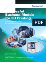 Successful Business Models for 3d Printing Preview