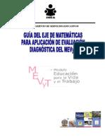 Guia Matematicas Prima y Sec