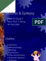 Seizure and Epilepsi