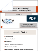 Financial Accounting 1 Week 2