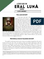 Heneral Luna Study Guide Final