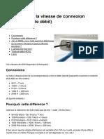 Adsl Tester La Vitesse de Connexion Internet Test de Debit 528 Myyl61
