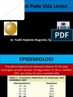 Hipertensi Pada Usia Lanjut