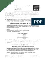 HOSP2110 04 Depreciation
