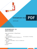 PowerPoint for Education