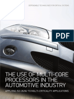 CSW - White Paper - Automotive - The Use of Multi-Core Processors in the Automotive Industry