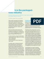 Growth in the Packaged Food Industry