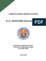 delhi university electronic syllabus