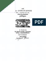 DU VAIR ¢ De la constance et consolation des calamitez publiques [FR] B [Parisson. Paris. 1594]
