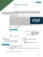 PLC-31-2014 Plano Nacional de Manutencao Predial