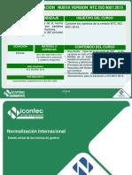 Actualizacion Ntc Iso 9001 2015