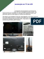 Apostila Curso Conserto TV LED